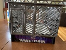 WWE Authentic Smackdown Steel Cage Action Figure With Ring Playset 2010 Mattel