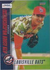 2017 Louisville Bats Asher Wojciechowski RC Rookie Cincinnati Reds
