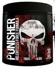 PUNISHER - EXTREME PRE-WORKOUT - FAST FREE SHIPPING!!! DUST - not MESOMORPH