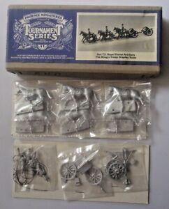Phoenix Miniatures Tournament Series 30MM ROYAL HORSE ARTILLERY KINGS TROOP T.3