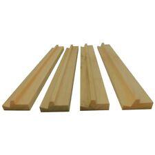 Mahjong Rails Racks Premium Set 4 Wood New