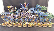 WARHAMMER AGE OF Sigmar Caos Daemons di Tzeentch Army Pro Painted