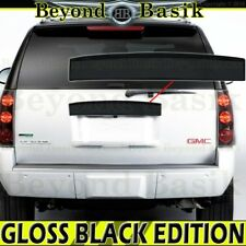 2007-2014 GMC YUKON YUKON XL GLOSS BLACK Tailgate Liftgate Handle COVER Upper