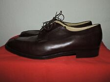 Hickey Freeman Brown Oxford Shoes ~ Men's US 12D, Excellent