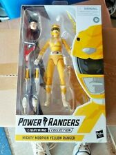 Power Rangers Lightning Collection Mighty Morphin Yellow Ranger Mint Box In Hand