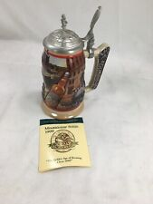 Budweiser 1999 Membership Stein Golden Age Of Brewing Circa 1898 - Preowned