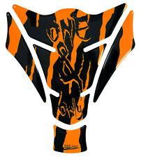 Tankpad 501787 Monster Neon Orange Racing-Motiv Splatter passend für Yamaha