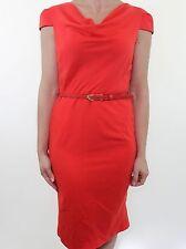Patternless Short Sleeve Formal Petite Dresses for Women