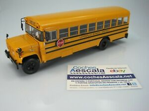 Autobus Autocar du Monde Hachette GMC 6000 School Bus Loysville IXO 1/43