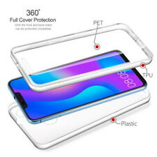 For Samsung Galaxy Note 10 Plus 360° Full Protect Clear Front & Back Case Cover