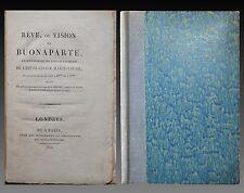 RÊVE ou VISION de BUONAPARTE lendemain accouchement Impératrice Marie Louis 1814