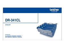 1 x Genuine Brother DR-341CL Drum Unit  B/C/M/Y for HL L8250CDN, HL L8350   25K