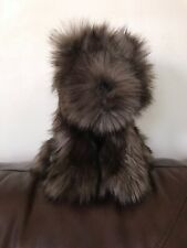 New With Tag Pottery Barn Kids Puppy Plush Stuffed Animal Dark Brown
