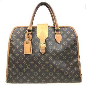 100% Authentic Louis Vuitton Monogram Rivoli Business Bag M53380 USED {07-0020}
