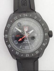 Luminox Outdoor Black Space Expedition Corp. Mens Watch 5020 Series Date GMT