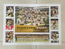RICHMOND TIGERS FIGHTING FURY 2017 PREMIERS LITHOGRAPH - DUSTY - COTCHIN - RANCE