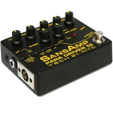 Tech 21 SansAmp Para Driver DI Preamp V2 Version 2 Guitar Bass Effects Pedal