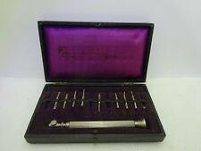"Old Antique Beutelrock""s Dental Instruments in Case"