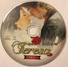 TERESA Telenovelas Populares DVD Disco 4 No Case No Art