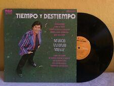 MARCO ANTONIO MUÑIZ TIEMPO Y DESTIEMPO MEXICAN LP POP EN ESPAÑOL ROMANTIC