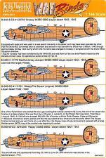 Kits World Decals 1/144 B-24D LIBERATOR Snow White & The Seven Dwarfs Part 2