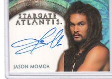 Stargate Atlantis season 3 & 4 Jason Momoa auto card