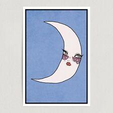 ArtPrintJoy La Luna Art Print Poster 12″ X 18″ Wall Art AA1601