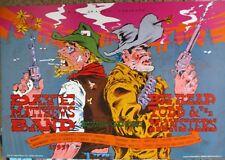 Dave Matthews Poster Big Head Todd Bgp111 Fillmore Era Original Bill Graham Myer