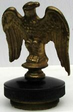 RARE EARLY BRONZE EAGLE RADIATOR CAP MASCOT L@@K #G525