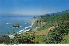 postcard   USA California  Incompareable Coast  posted