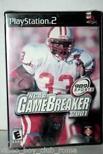 NCAA GAMEBREAKER 2001 GIOCO NUOVO SONY PS2 EDIZIONE AMERICANA NTSC/U GD1 35474