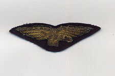 ALITALIA original PILOT uniform WING badge airline crew civil aviation patch ax