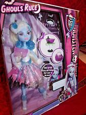 MONSTER HIGH GHOULS RULE 2012 ABBEY BOMINABLE PRISTINE AMAZING DETAIL FROM MOVIE