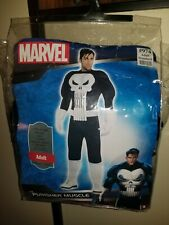 The Punisher Adult Halloween Costume Marvel Comics STANDARD SIZE Muscle Suit