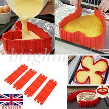 Nonstick 4pcs Silicone Cake Mold Magic Bake Snakes DIY Cake Mould Baking Tools