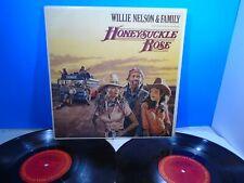 Honeysuckle Rose Soundtrack By Willie Nelson (Vinyl 2-LP 1980) Used ORG 33 Album