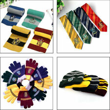 Harry Potter Cosplay Scarf Hat Tie Gryffindor Slytherin Hufflepuff Ravenclaw Hot