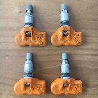 4 BMW Reifendrucksensoren RDC LC 433 MHz X1 E84 X3 F25 5er F10 F11 Mini 6856227