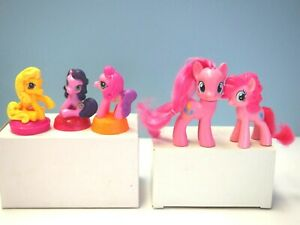 5 My Little Ponies