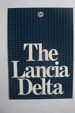 LANCIA DELTA BROCHURE WITH SPECS