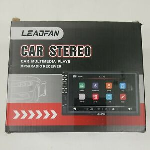 """Leadfan 7"""" Car Stereo. Car Multimedia Player. MP5 and Radio. Touch screen."""