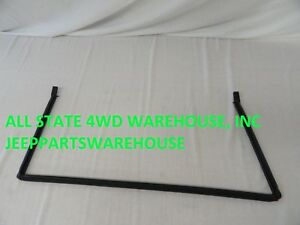 JEEP PARTS TAILGATE WEATHERSTRIP SEAL 1997-2006 WRANGLER TJ LOWER BODY BRAND NEW