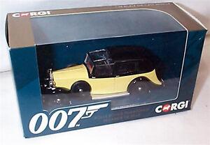 James Bond Goldfinger Rolls Royce Phantom 111 Sedance CC06805 1/36 New in box