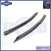 66-67 Chevelle Quarter Window Glass Weatherstrip Seals VS3J Metro USA MADE