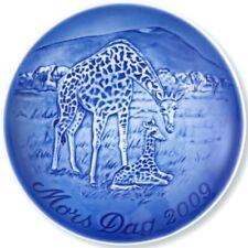 Bing & Grondahl 2009 Mother's Day Plate B&G - Giraffe and Calf – Mint!