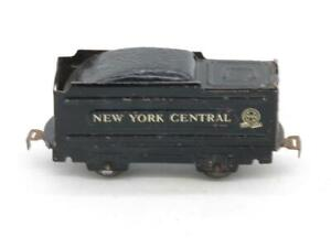 Marx Trains O Gauge Square New York Central Tender with Rivet Tab Couplers