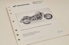 2004 VTX1800 N /R /S GENUINE Honda Factory SETUP INSTRUCTIONS PDI MANUAL S0197
