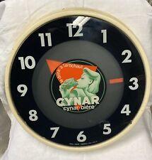 Ancienne Horloge Publicitaire Cynar-biere Le Drink a L'artichaut