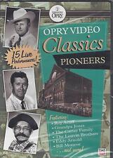 OPRY VIDEO CLASSICS PIONEER/ Ray Price Bill Monroe Carl Smith Tex Ritter NEW DVD