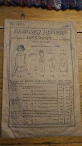 Antique DESIGNER PATTERN #3606, Vestee's Collars and Cuffs